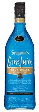 Seagram Gin & Juice Blue Beast